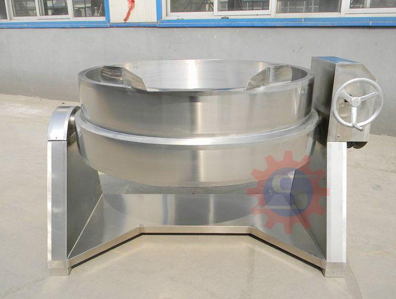 Steam boiling pot