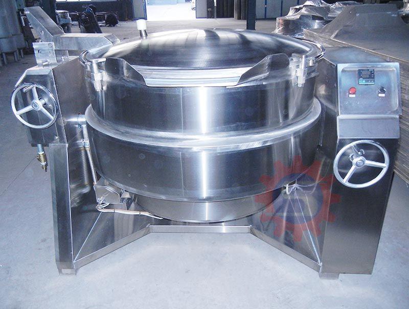 Gas boiling pot