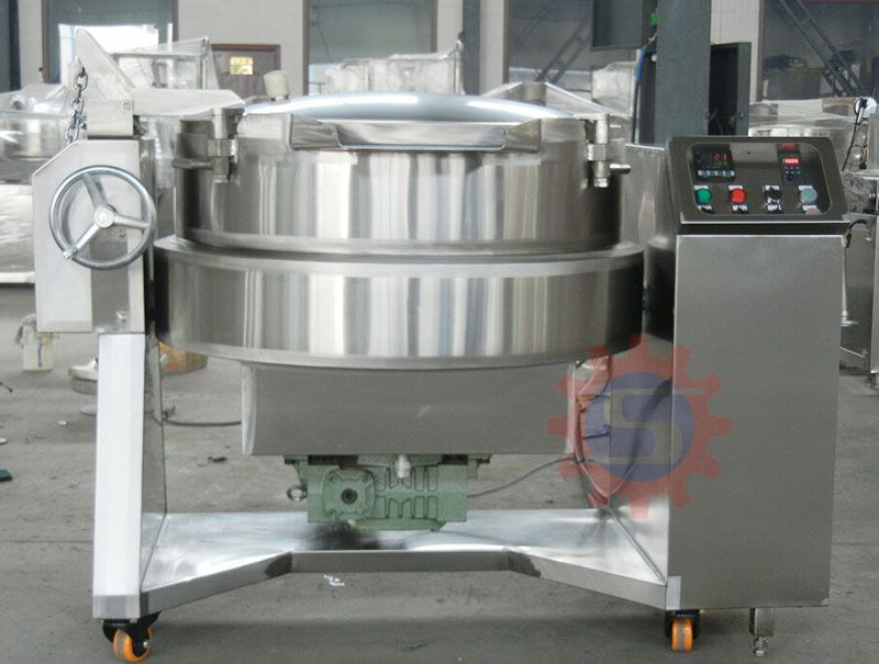 Electric jacketed wok