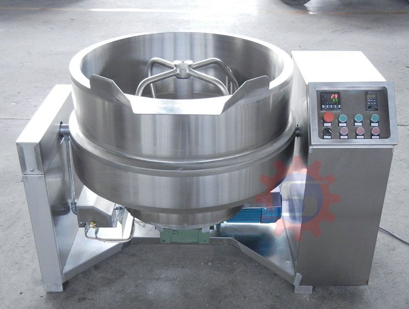 Gas jacketed wok