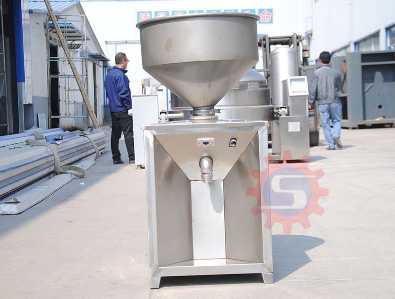 Food stuffing filling machine