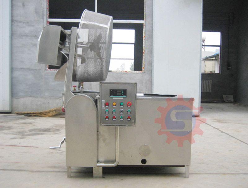 Industrial coal-fired fryer