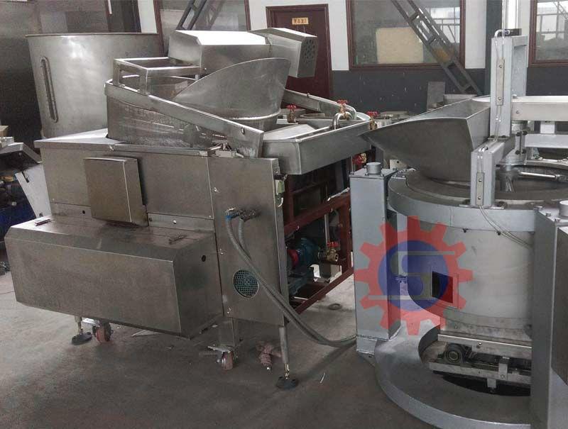 fried food production line fryer