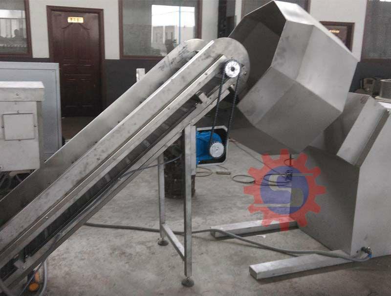 fried food production line seasoning machine