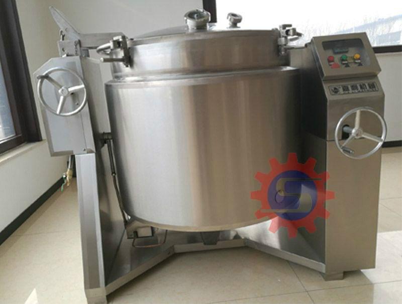 Sausage cooking machine